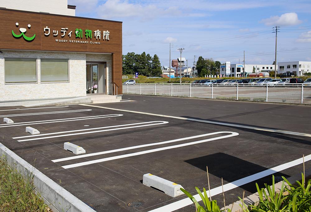 【Parking Lot (5 vehicles)】